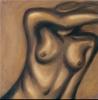 Hiding  - 18x18 Oils on Canvas