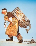 A Fair Catch by Norman Rockwell