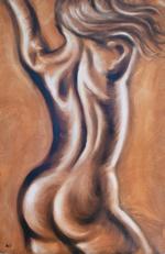 Spirit  -  Oils on Canvas