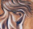 Spirit - 21x36 Oils on Canvas (detail)