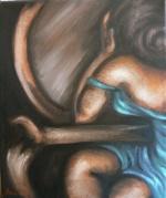 Vanity 14x10 Oils on Canvas