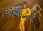 Haurvatat 36x48 oils on canvas