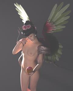 Xi WangMu 3D Render by Jennie Rosenbaum